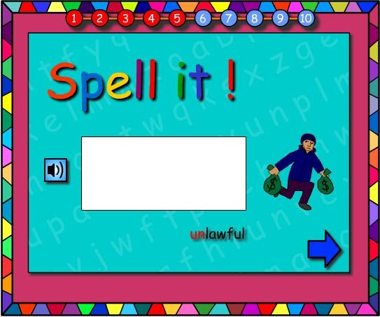 Revision of : Prefixes -Let's Spell It