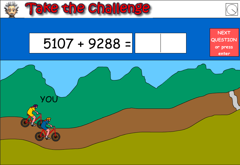 Addition of five digit numbers