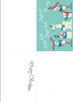 Jingle Christmas Card (1 page)