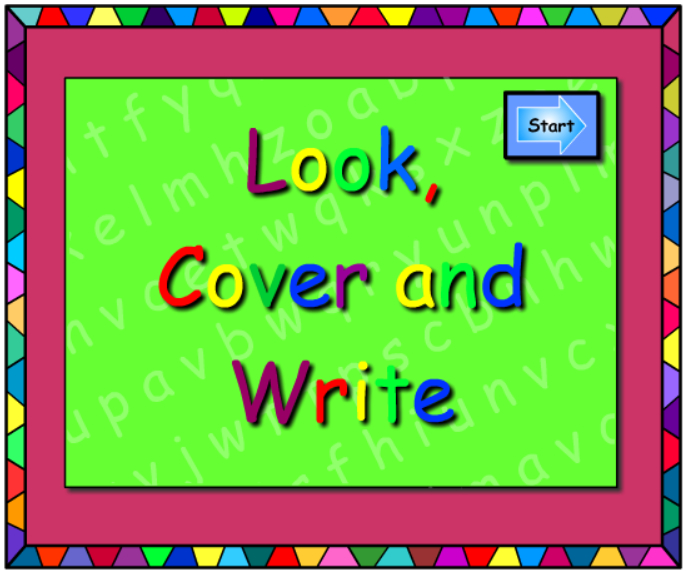 What's The trick? -Look Cover Write