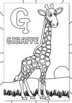 Giraffe Colour