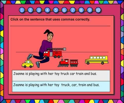 Using Commas