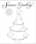 Christmas Tree Card 2 (1 page)