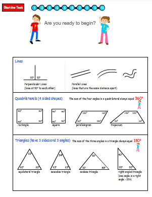 Angles in Shapes
