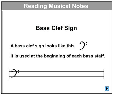 Let's Learn About The Bass Staff