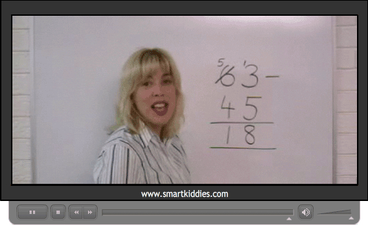 Subtraction of two digit numbers