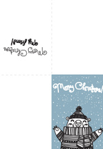 Friend Christmas Card (1 page)