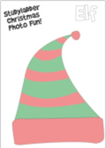 Photo booth Elf (1 page)