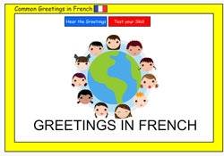 Common Greetings in French (REMOVED TO BE CORRECTED)