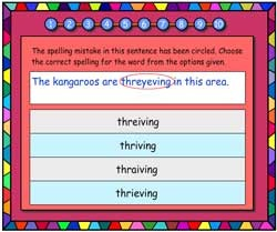Spelling Corrections