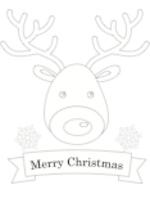 Christmas Reindeer (1 page)