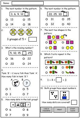 Patterns Problem Solving