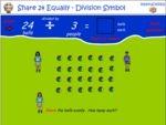 Share 24 equally