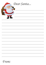 Dear Santa Letter (1 page)